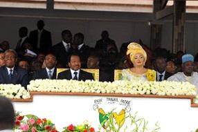 Paul Biya visit