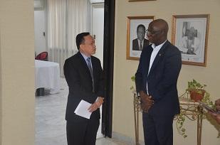 3. Mr SUNARHO, Deputy Chief of Mission. Indonesian  Embassy