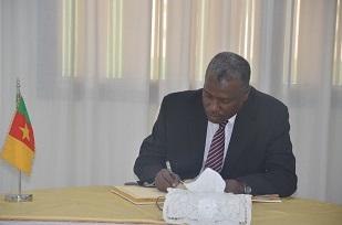 Dr AHMED EL - TIGANI SWAR, Deputy Head of Mission of  Sudan Embassy