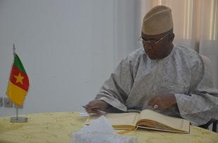 H. E OMAR GIBRIL SALLAH, Ambassador of Gambia