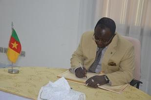 H.E CHERIF MAHMOUD NABANIOU, Ambassador of Guinea