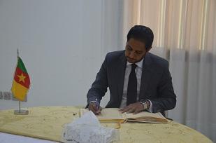 H.E DYA  EDDINE SAID BAMAKHRAMA, Ambassador of Djibouti  and Dean of Diplomatic Corps