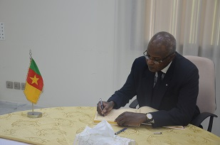 H.E Dr OUMAROU AMADOU SONRHAI,  Ambassador of Niger