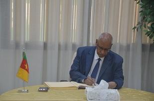 H.E Dr ZEMI MOULAYE,  Ambassador of Mali