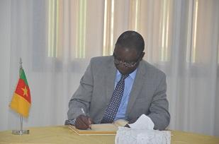 H.E IBRAHIM MUMBA, Ambassador of Zambian Embassy