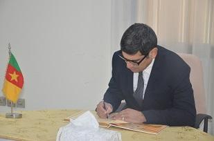H.E JAIME SERGIO CERDA, Ambassador of Argentine  Republic