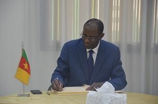 H.E MANSA OUNTANA, Ambassador of Burkina Faso