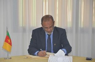 H.E MOHAMED AZMI THASSIM, Ambassador of Sri Lanka