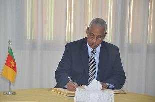 H.E MOHAMED OMER MAHMOUD, Ambassador of Eritrea