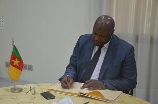 H.E TOURE VAZOUMANA, Ambassador of Cote d'Ivoire