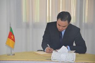 Mr FAKHRI TAIB, Deputy Head of Mission, Embassy of  Brunei Darusalam