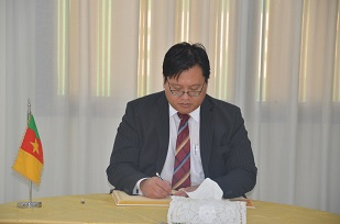 Mr HISKANDAR ZULKARNAEN HASSHIM, Deputy Chief of  Mission, Singapore Embassy