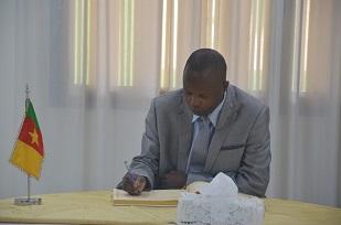 Mr LEONIDAS MBAKENGA, First Consellor. Embassy of  Burundi