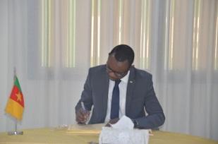 Mr NZIGOU SEBASTIEN, First Counsellor,  Embassy of  Gabon