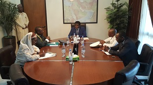 2. MEETING AT AMBASSADOR'S OFFICE
