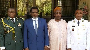 3. THANK YOU COLONEL ABBA AND WELCOME  COLONEL ABBA TONGARI