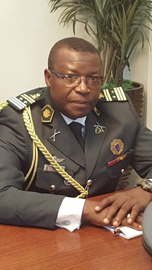 8. COLONEL ABBA TONGARI. THE NEW  MILITARY ATTACHE OF CAMEROON EMBASSY
