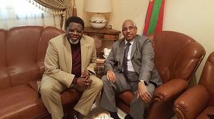 Cameroon and Eritrea  Ambassadors