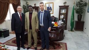 Kosovo delegation with H.E Iya  Tidjani