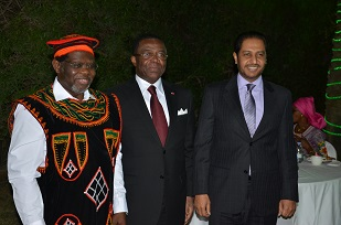 2_The Minister, the Ambassador and  the Dean of diplomats group